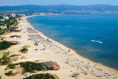 Early booking plaja Golden Sands