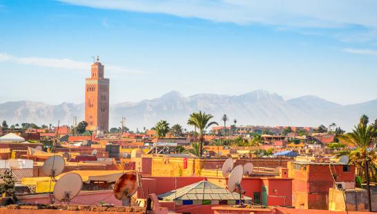 Avion + Cazare Marrakech