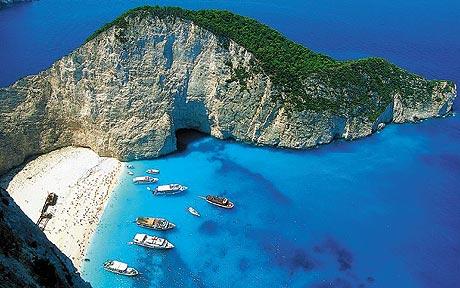 Plaja Zakynthos