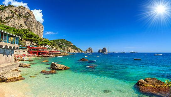 Vacanta Capri